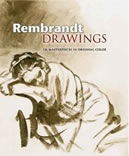 Rembrandt Drawings: 116 Masterpieces in Original Color (Hardcover)