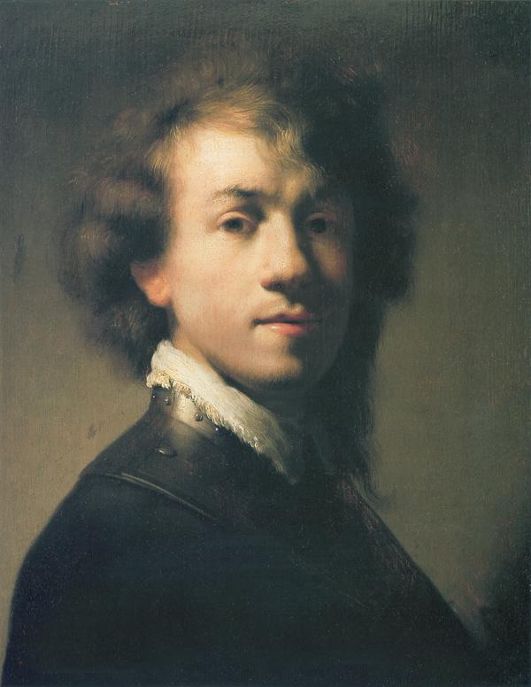 Rembrandt Van Rijn Self Portrait 1629 TITLE